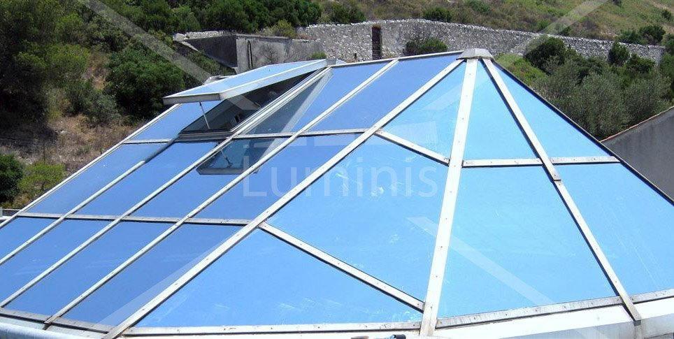 Film de protection solaire métallisé argent - REX-200x. Luminis-Films