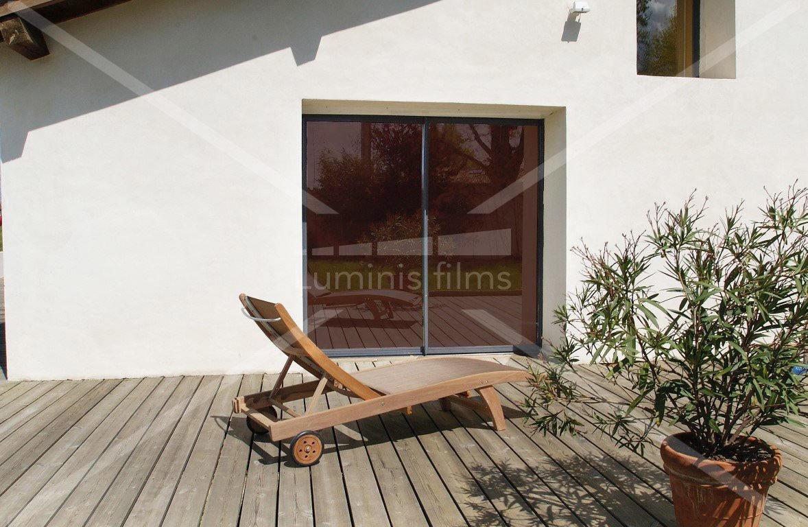 film anti chaleur m tallis bronze glass 108i luminis films. Black Bedroom Furniture Sets. Home Design Ideas
