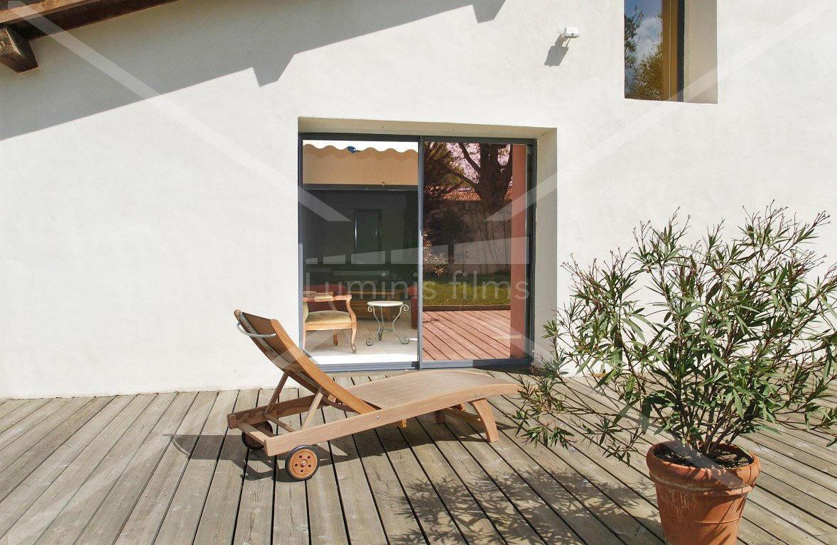 film anti chaleur m tallis cuivre glass 110i luminis films. Black Bedroom Furniture Sets. Home Design Ideas