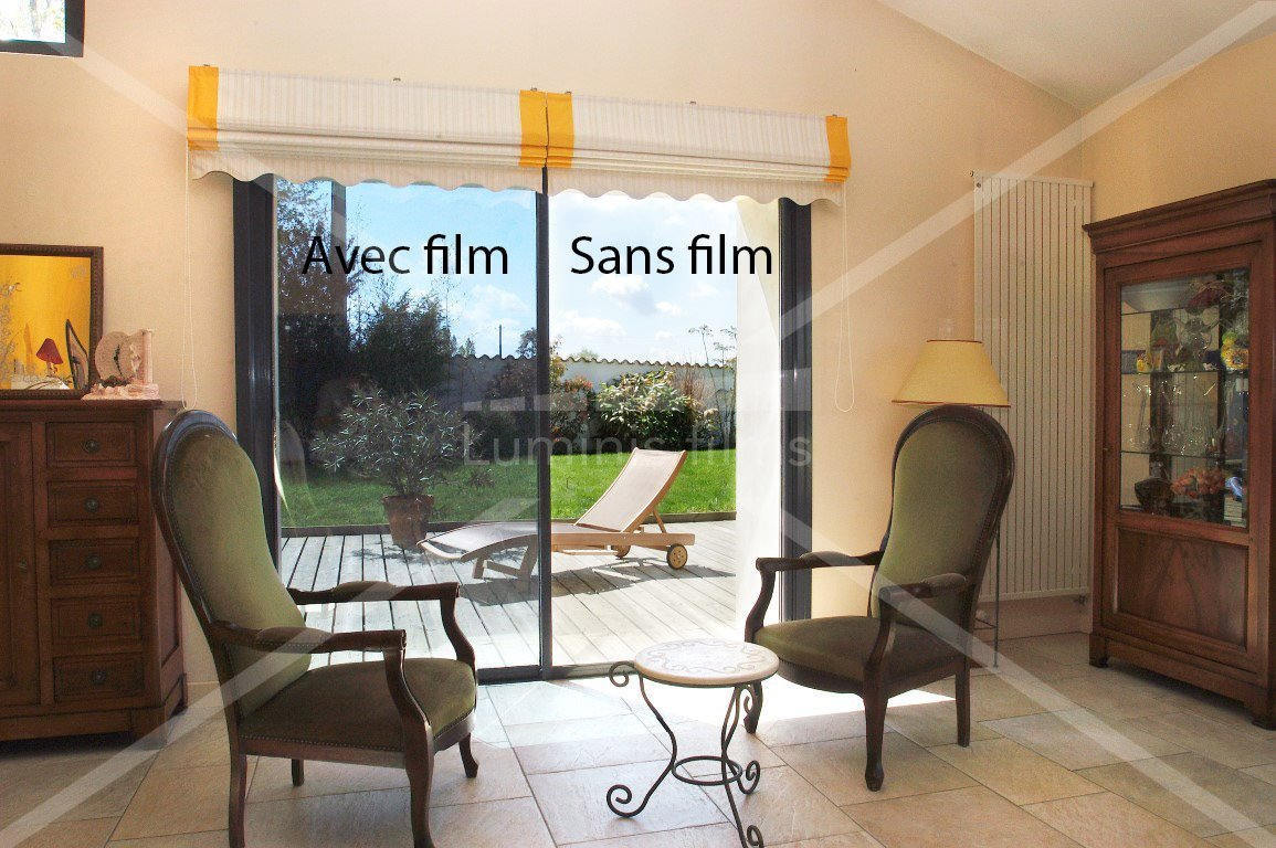 film anti chaleur m tallis argent glass 100i luminis films. Black Bedroom Furniture Sets. Home Design Ideas