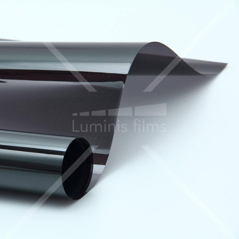 film de protection solaire noir fonc glass 212x luminis films. Black Bedroom Furniture Sets. Home Design Ideas