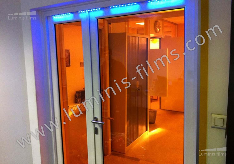 film inactinique orange pour la laboratoire photo luminis films. Black Bedroom Furniture Sets. Home Design Ideas