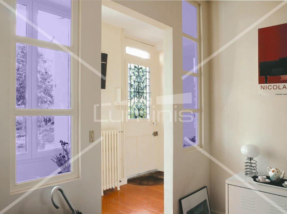 Film d coratif de couleur lilas 67047 luminis films - Film adhesif decoratif pour meuble ...