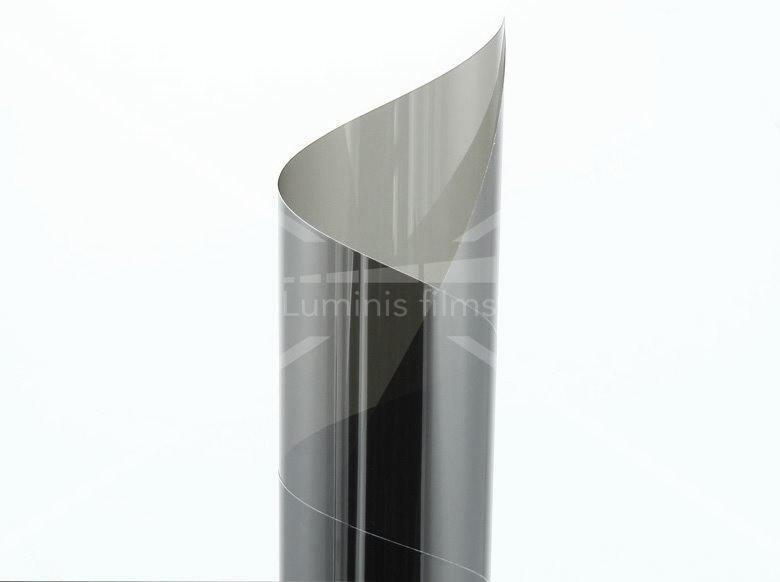 film effet miroir sans tain neutre inox miroir 209x luminis films. Black Bedroom Furniture Sets. Home Design Ideas