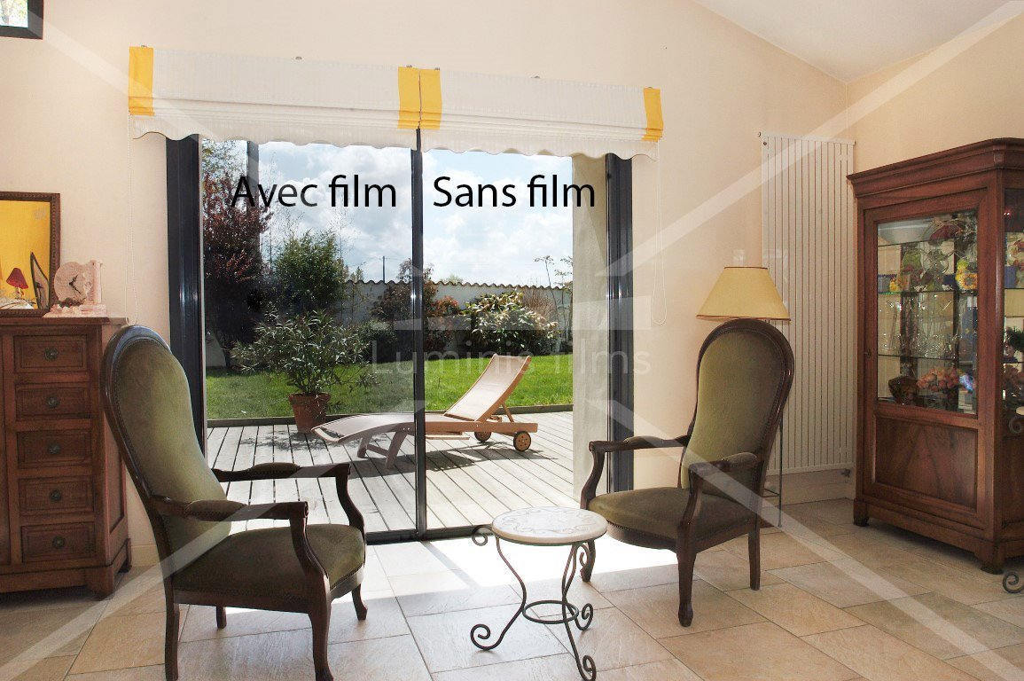 Film miroir sans tain neutre inox miroir 109i luminis films for Miroir sans tain prix