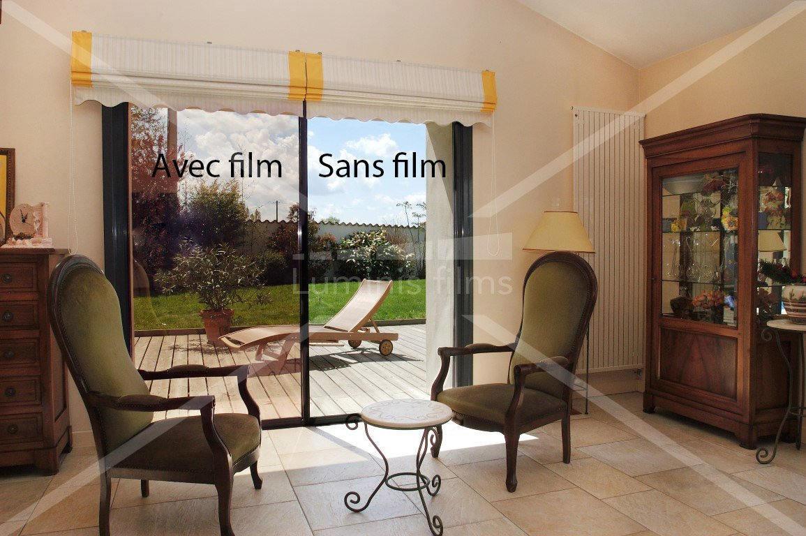 film miroir sans tain r fl chissant cuivre miroir 110i luminis films. Black Bedroom Furniture Sets. Home Design Ideas