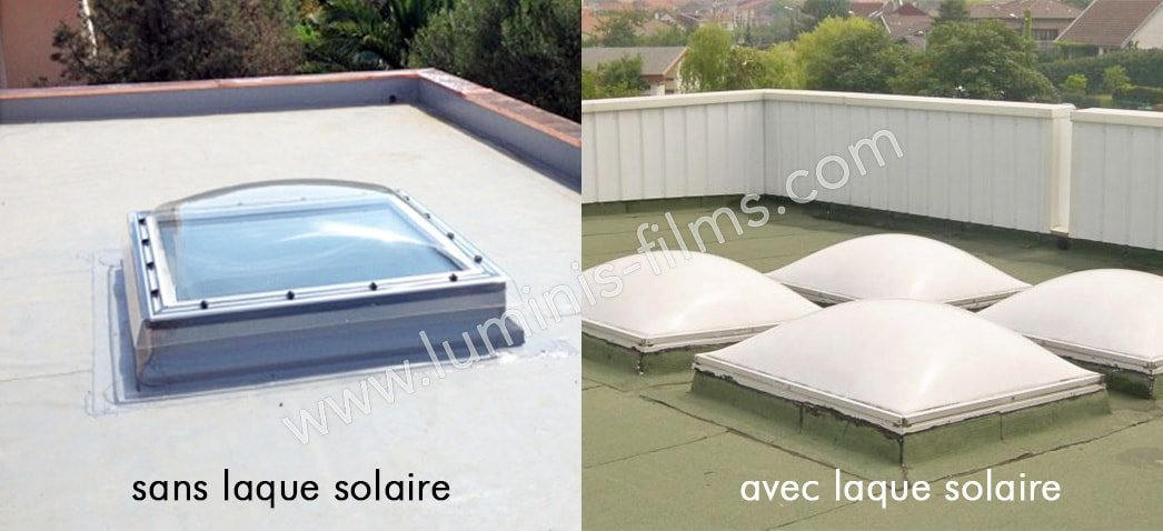 Laque solaire blanc mat (5l). Luminis-Films