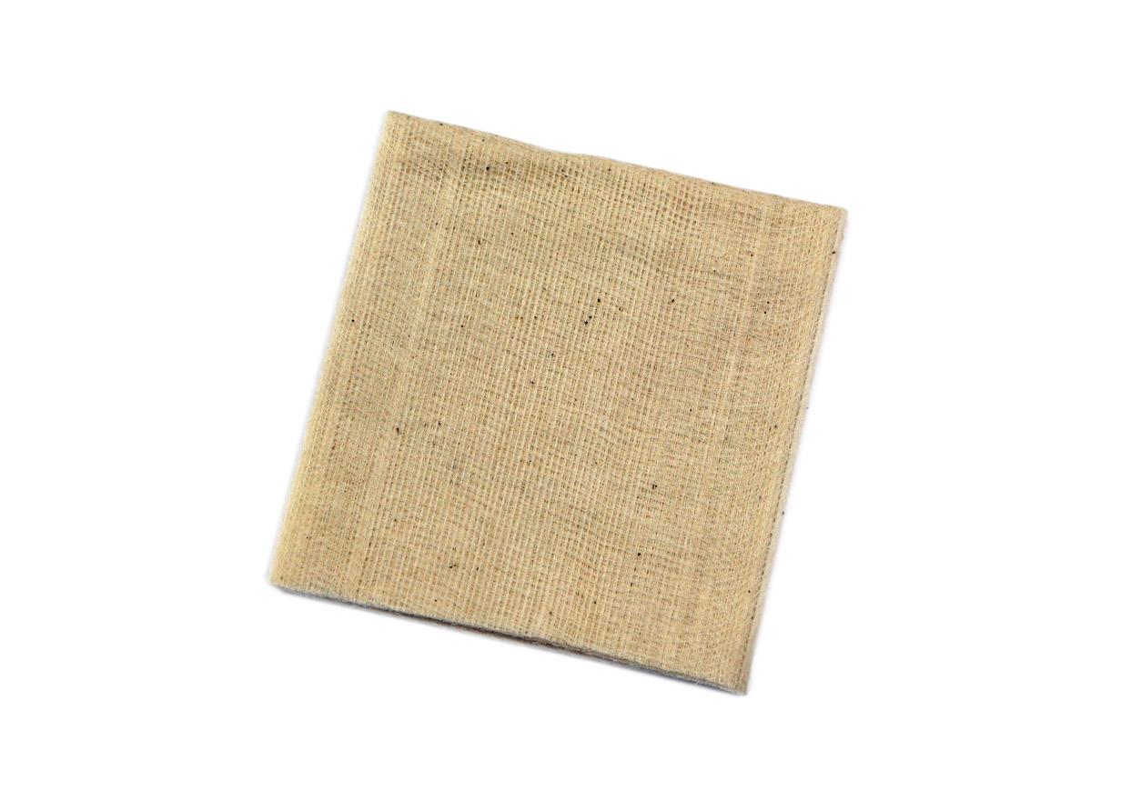 Tampon d'essuyage pour éliminer la poussière avant la pose. Luminis-Films