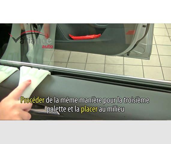 """Palettes """"écarteur de joints"""" (lot de 3) pour écarter le lécheur de vitre. Variance Auto"""