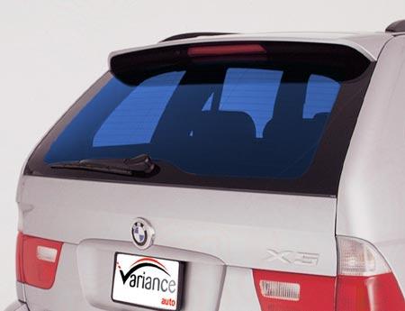 Film automobile bleu moyen. Variance-auto