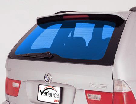 Film automobile tuning bleu lagon. Variance-auto