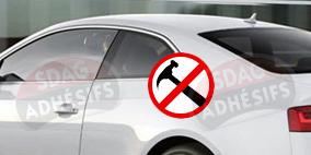 kit 3/4 arrière renfort 100 fumé clair Seat Ibiza (3) 3 portes (2002 - 2008). SDAG