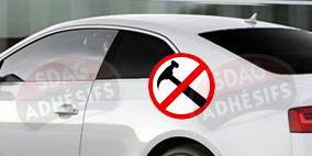 kit 3/4 arrière renfort 100 fumé foncé Seat Ibiza (3) 3 portes (2002 - 2008). SDAG
