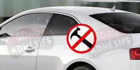 kit 3/4 arrière renfort 100 fumé moyen Seat Ibiza (3) 3 portes (2002 - 2008). SDAG