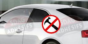 kit 3/4 arrière renfort 100 fumé moyen plus Seat Ibiza (3) 3 portes (2002 - 2008). SDAG