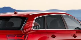 kit 3/4 arrière fumé moyen 25 Seat Ibiza (3) 3 portes (2002 - 2008). SDAG