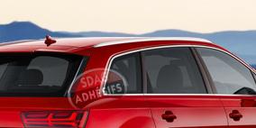 kit 3/4 arrière fumé clair 35 Seat Ibiza (3) 3 portes (2002 - 2008). SDAG