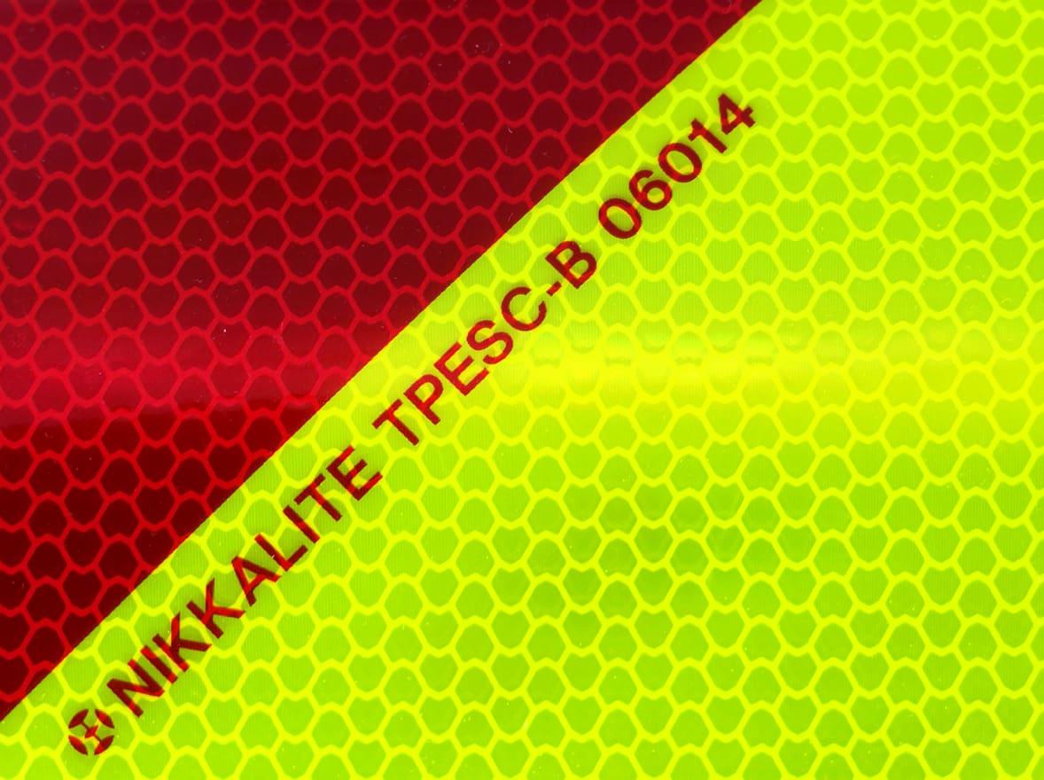 Bandes réfléchissantes homologuées côté gauche - norme TPESC-B-06014. Variance Auto