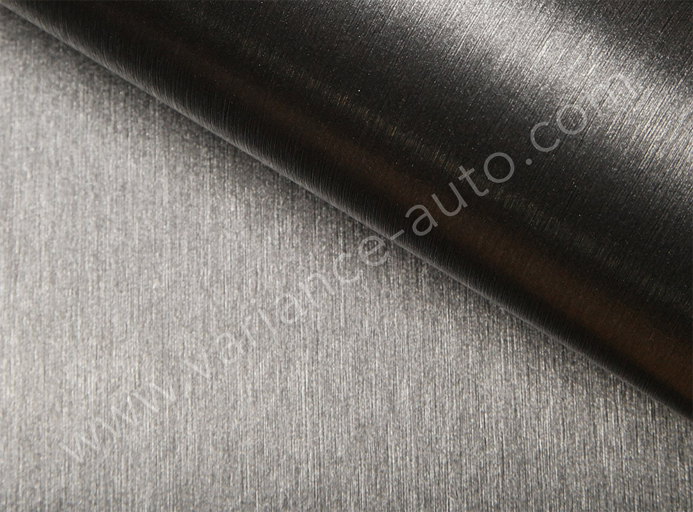 Film covering métal brossé anthracite 3D - BROSSE-4709a