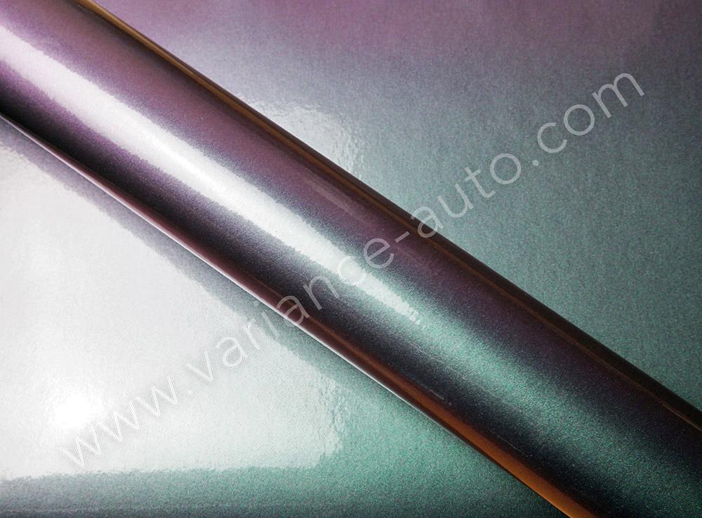 Film covering caméléon vert/violet 3D - CAM-4506