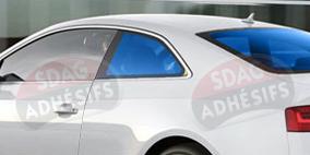 kit 3/4 arrière tuning bleu lagon Seat Ibiza (3) 3 portes (2002 - 2008). SDAG
