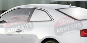 kit 3/4 arrière chrome Seat Ibiza (3) 3 portes (2002 - 2008). SDAG