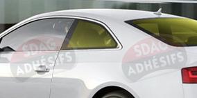 kit 3/4 arrière tuning jaune citron Seat Ibiza (3) 3 portes (2002 - 2008). SDAG