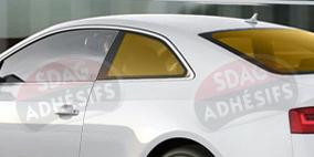 kit 3/4 arrière tuning orange Seat Ibiza (3) 3 portes (2002 - 2008). SDAG
