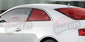 kit 3/4 arrière tuning rouge cerise Seat Ibiza (3) 3 portes (2002 - 2008). SDAG