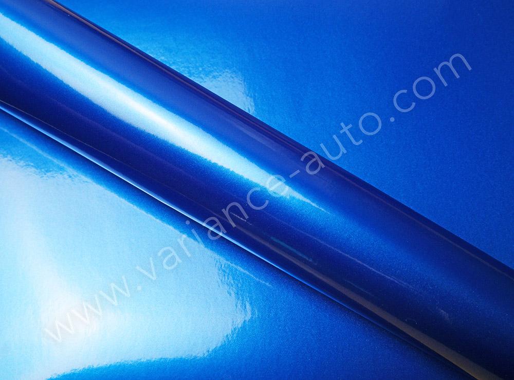 Film covering bleu métallisé 3D - METAL-4605a