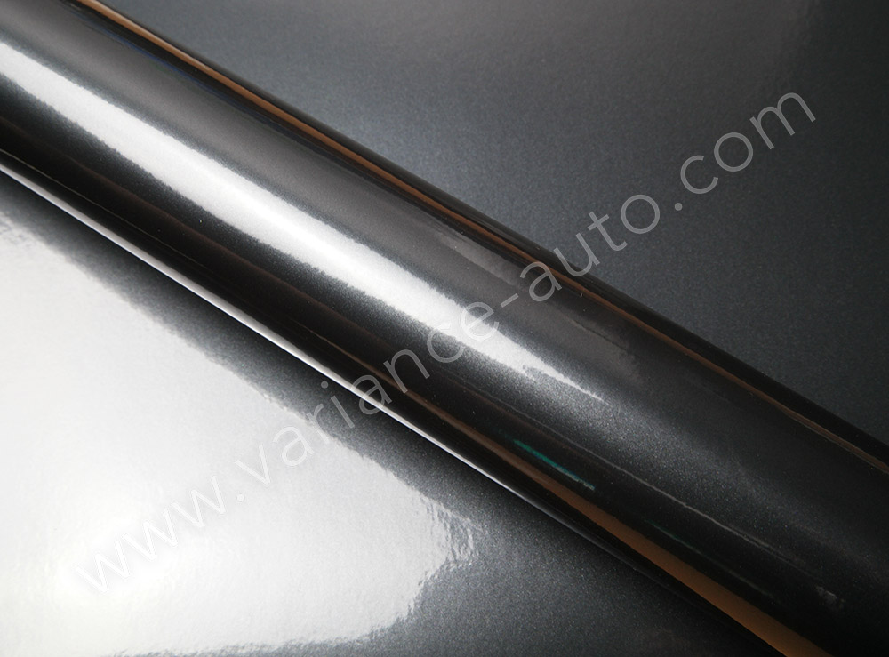 Film covering noir métallisé 3D - METAL-4603a