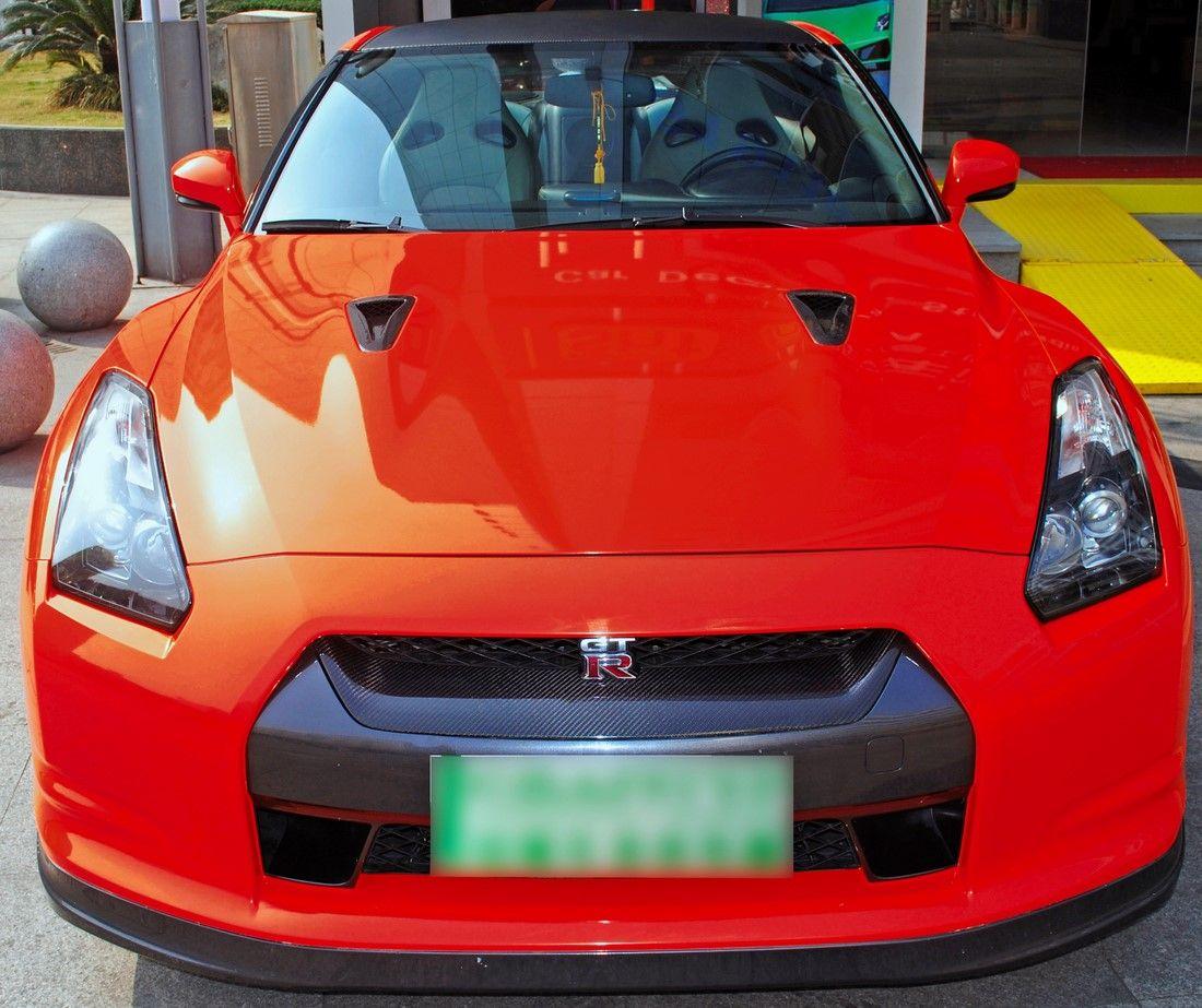Film covering rouge brillant 2D. Variance Auto
