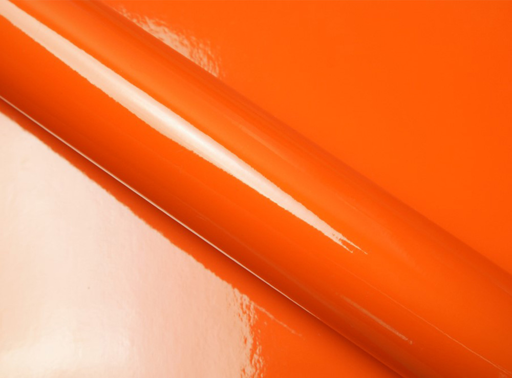 Orange brillant pastille couleur
