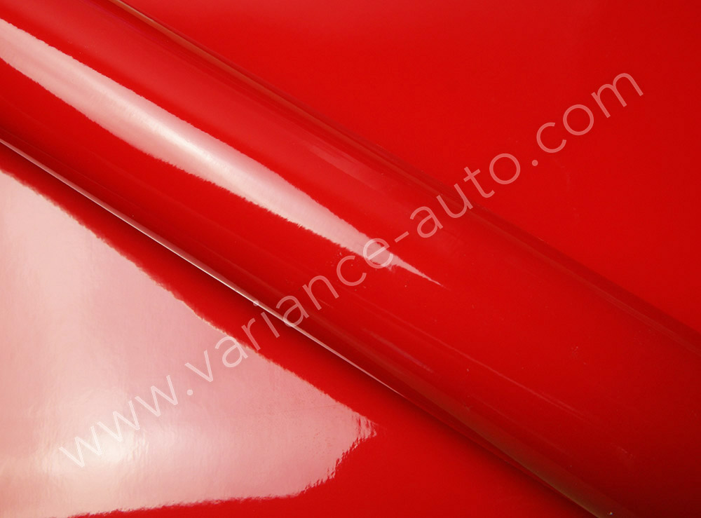 Film covering  rouge brillant 2D - GLOSS-4304