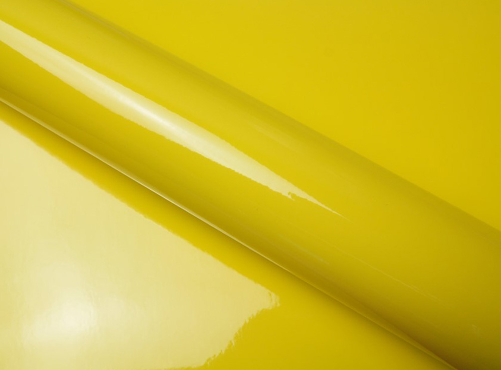 Jaune brillant pastille couleur