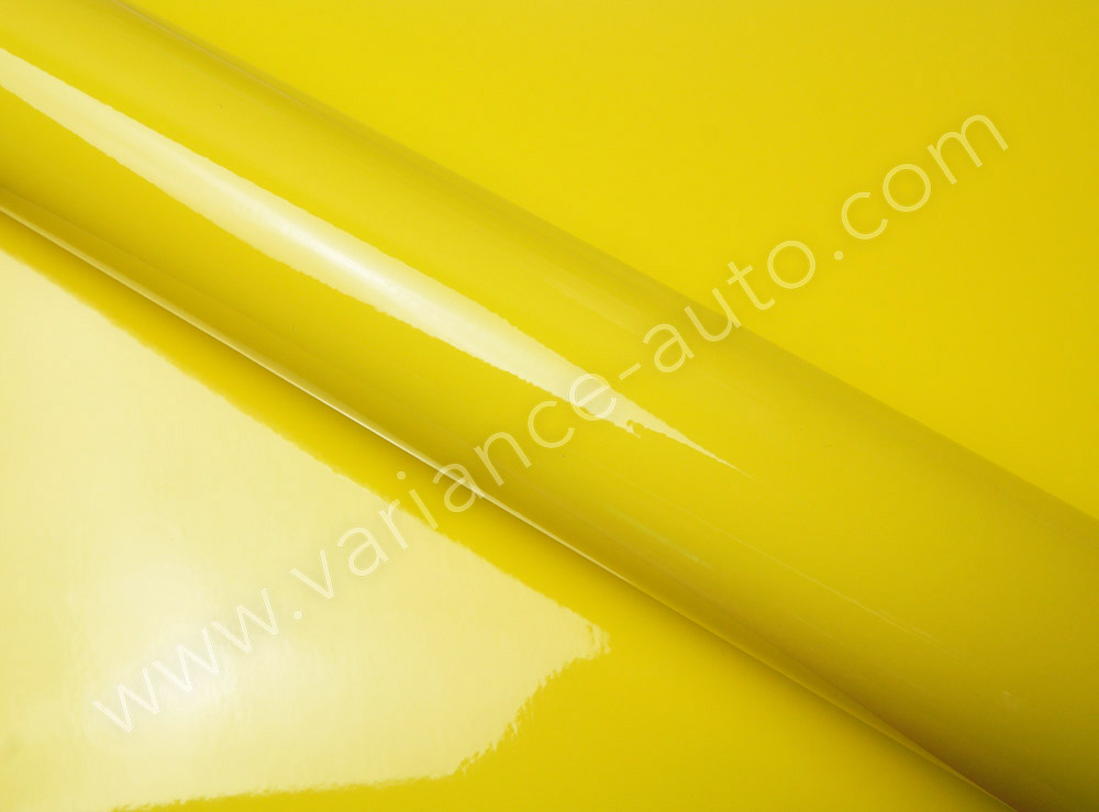 Film covering jaune brillant 2D - GLOSS-4308