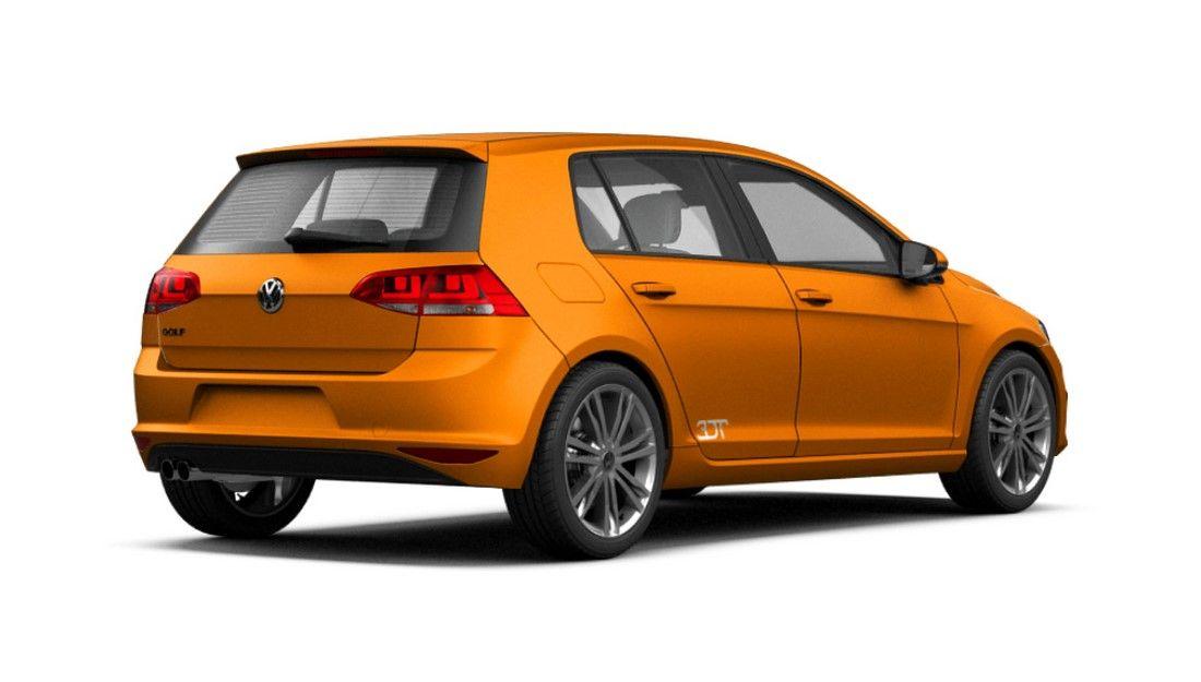 Film covering orange mat 2D. Variance Auto