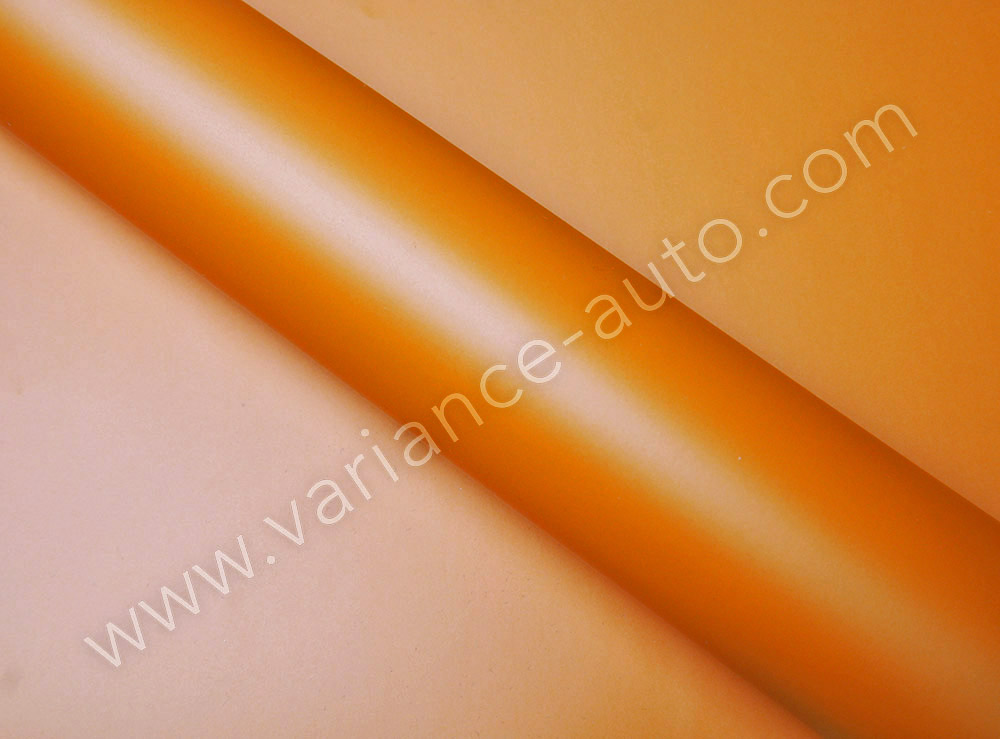 Film covering  orange mat 2D - MAT-4101