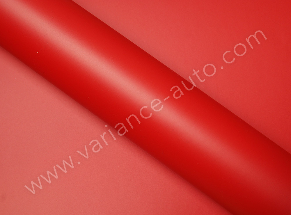 Film covering  rouge mat 2D - MAT-4104