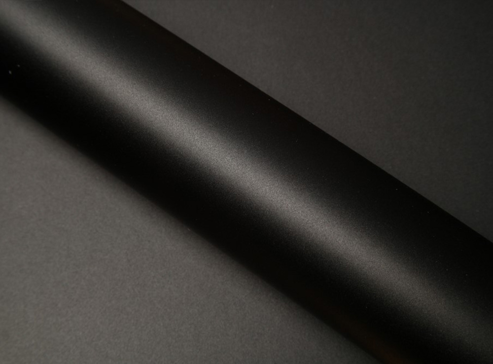 Film covering noir mat 2D. Variance Auto