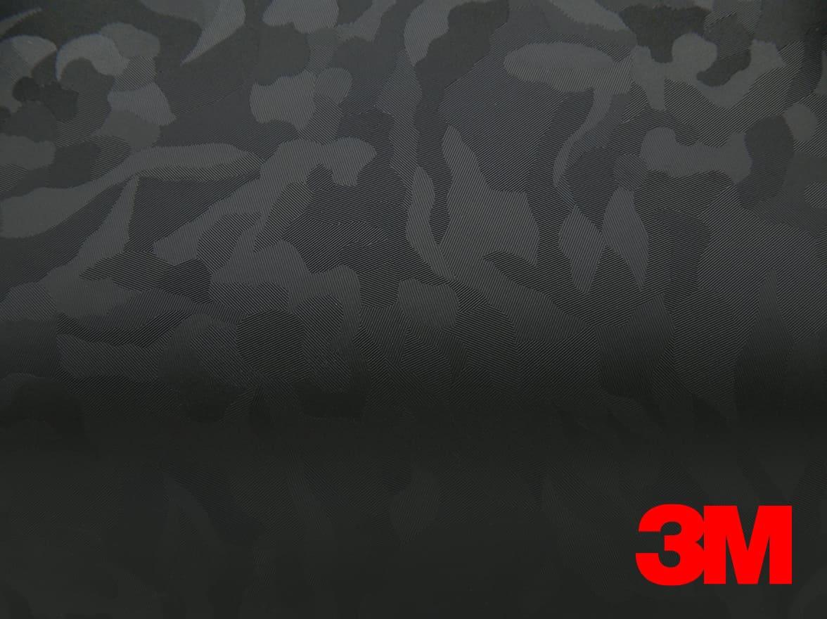 Film covering 3M 2080 motif treillis noir effet carbone. Variance-auto
