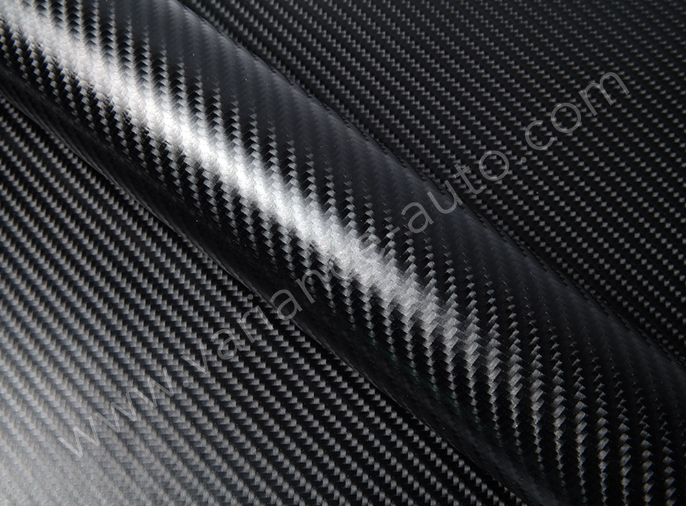 Vinyl covering carbon noir 3D - CARBON-4953