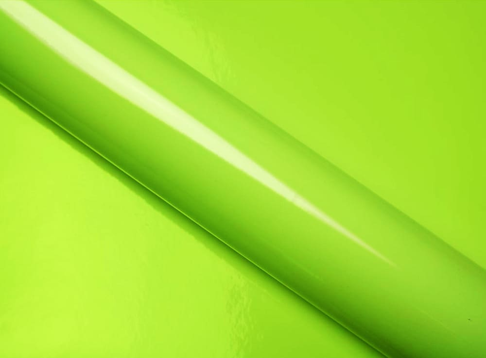 Film covering vert pomme brillant 2D. Variance Auto