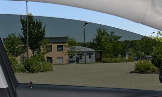 Film teinté black 05 : vue intérieure. Variance Auto