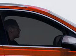 Film solaire fumé moyen 25. Variance Auto