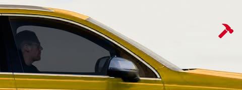 Film sécurité renfort 100 fumé clair. Variance-auto