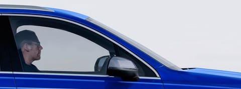 Vue véhicule - kit vitres avant