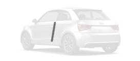 Pack film protection de carrosserie 2 protections de carrosserie pour arêtes de portes