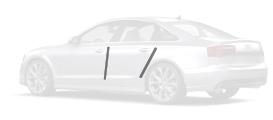 Pack film protection de carrosserie 4 protections de peinture pour arêtes de portes