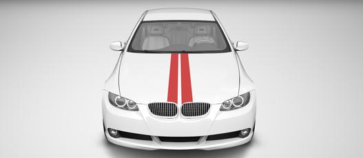 2 bandes décoratives auto. Variance Auto